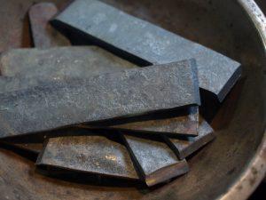 鋼を鍛える