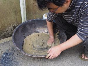 焼き刃の土の製作_05